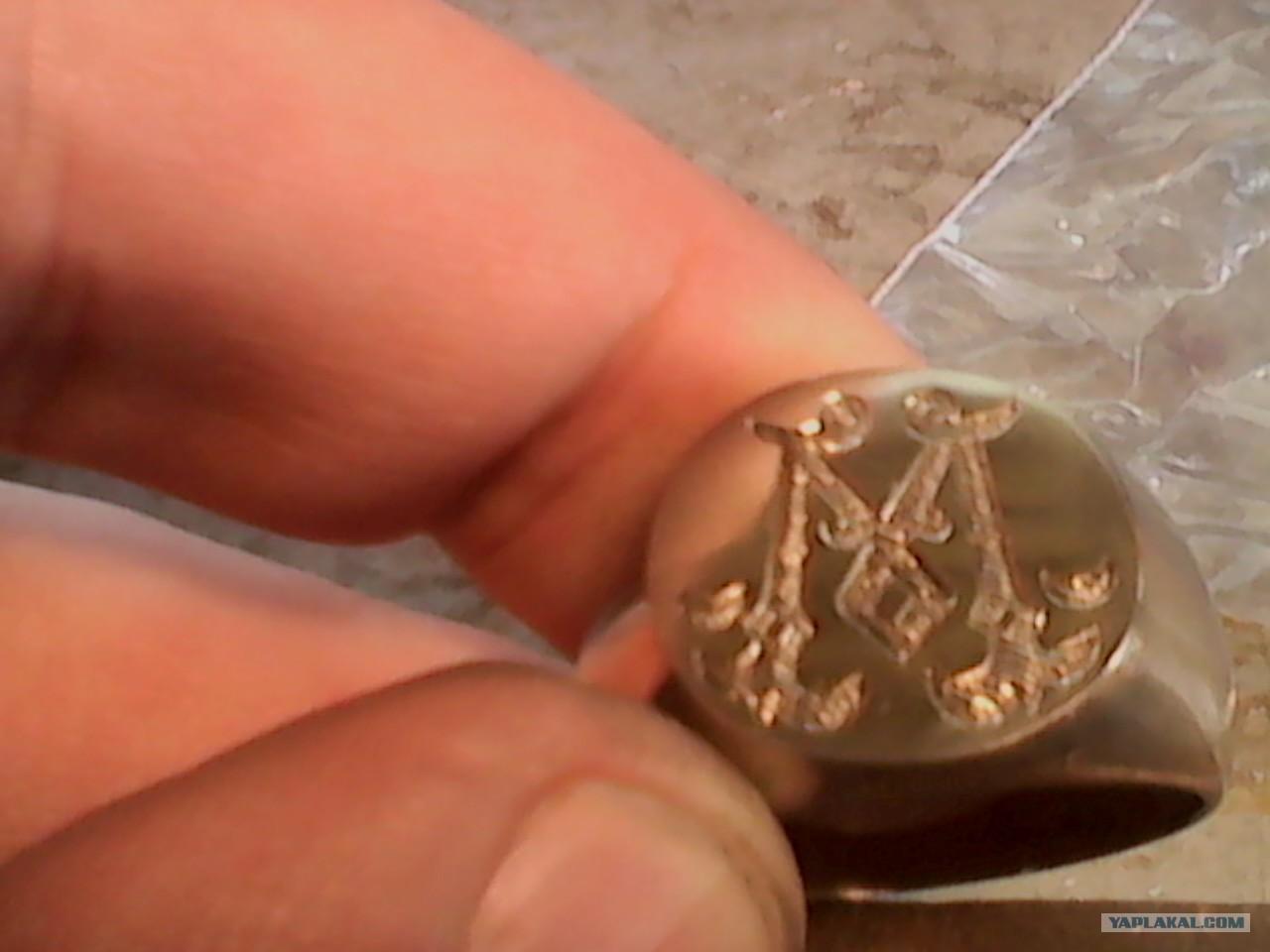 Как сделать печатку кольцо своими руками