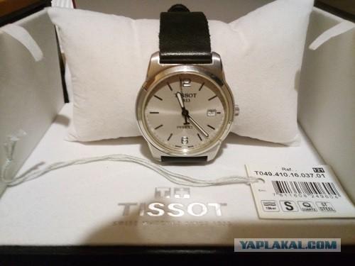 Продаю наручные часы Tissot T049.410.16.037.01 оригинал