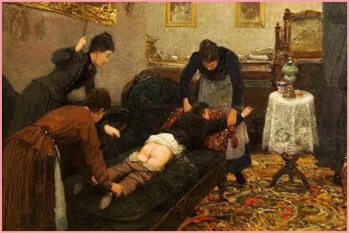 Порка и наказание жены
