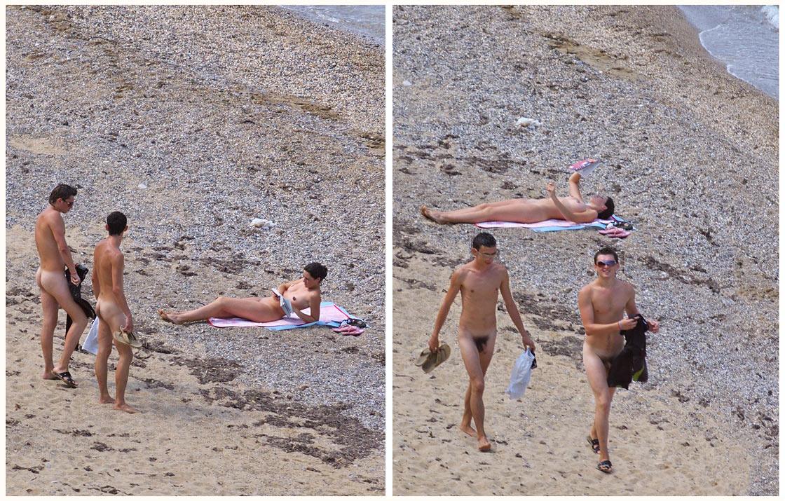 Прикольные фото с нудистских пляжей
