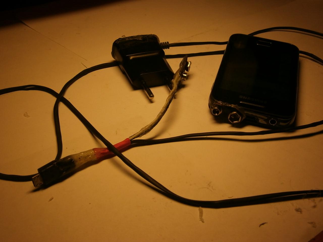 Зарядка микро юсб своими руками