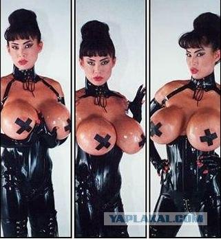 Самые большие груди в мире . . (22 фото). . Бонусные картинки.
