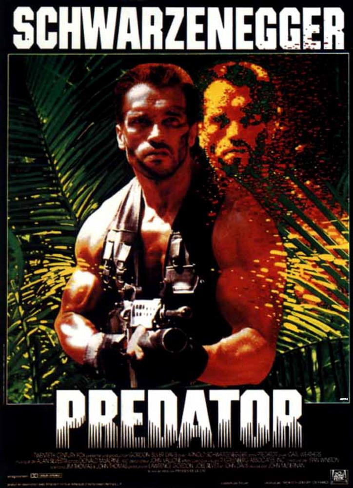 Джон Мактирнан.  Качество.  1987. Хищник / Predator онлайн.  DVDRip.
