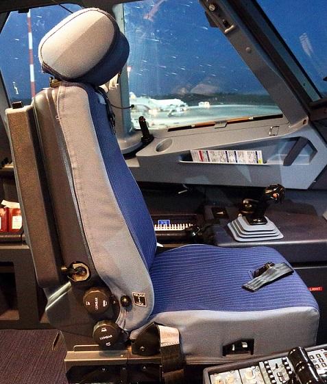 Кресло пилота Airbus-320