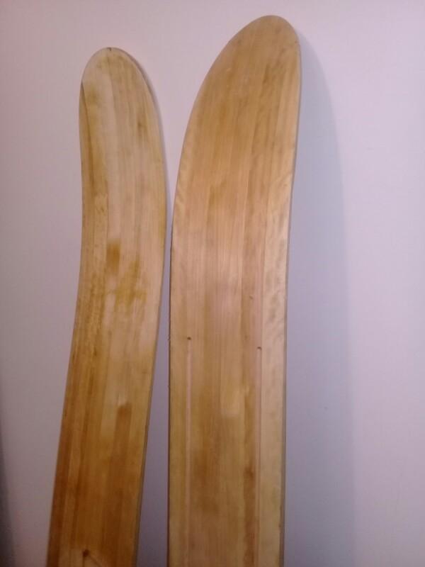 Лыжички для сибирских охотничков