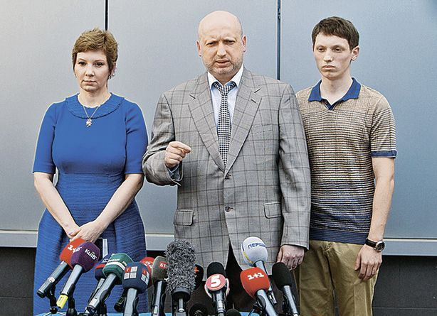 Сыну Турчинова пришла повестка из военкомата