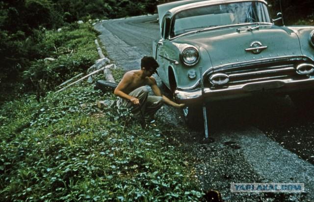 Американские авто 60-х в цвете