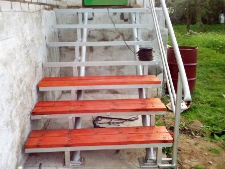 Первый опыт в лестницестроении.