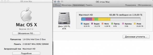 Винчестер Samsung Hs12YHA (120Gb) Apple MacBookAir