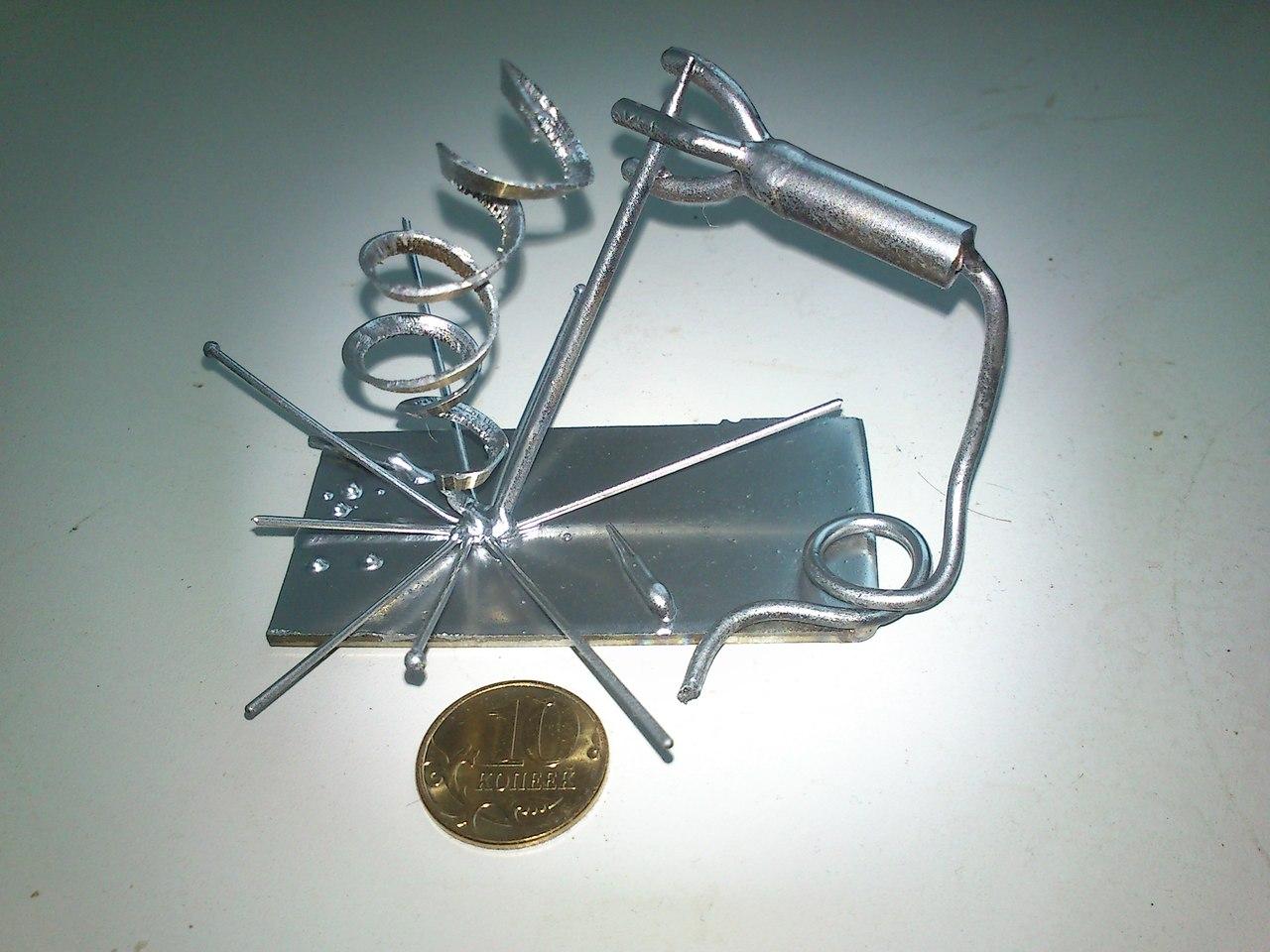 Поделки из металла своими руками сварка на продажу