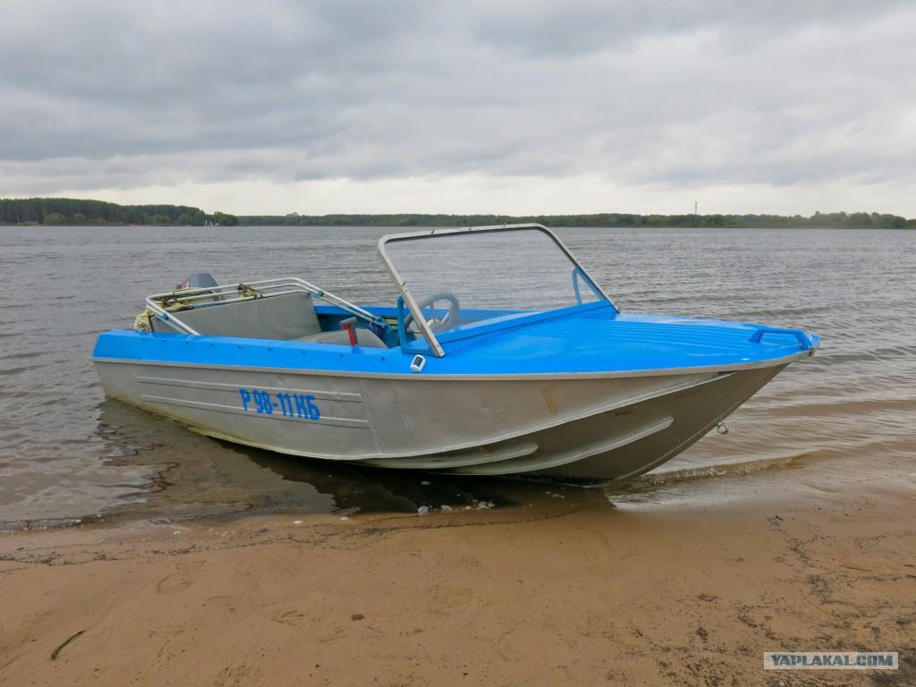 какой мотор на лодку ока 4