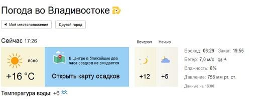 огурцов погода в владика на 5 дней нашем