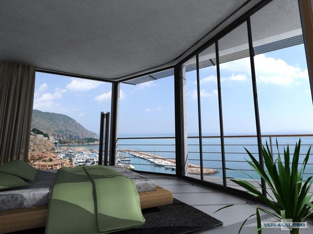 Недвижимость испании с видом на море
