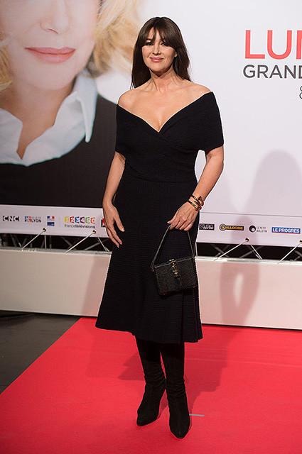 Моника Беллуччи появилась на мероприятии в Лионе
