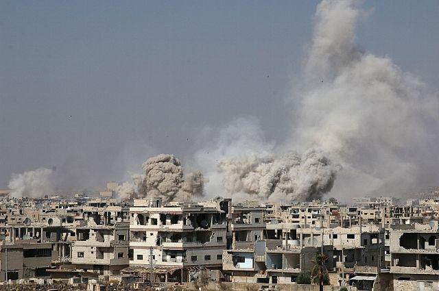 Коалиция под руководством США нанесла новый удар по войскам Сирии