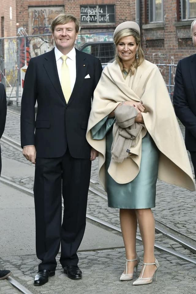 Король и королева Нидерландов в Германии. 2017 год