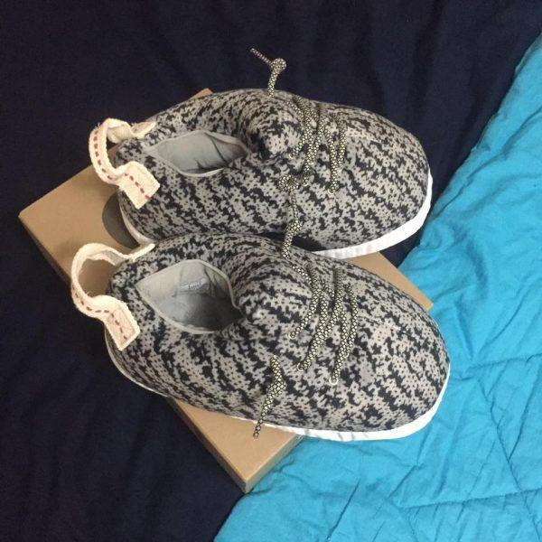 Пацан заказал на eBay крутые кроссовки ограниченной серии