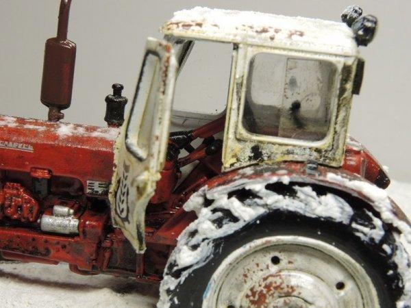Чем круче джип - тем дальше идти за трактором!