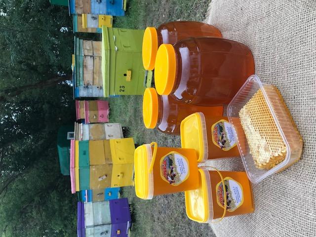 Москва, цветочный мёд 2020