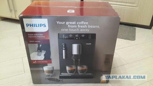 Кофемашина Philips 3000 series HD8827