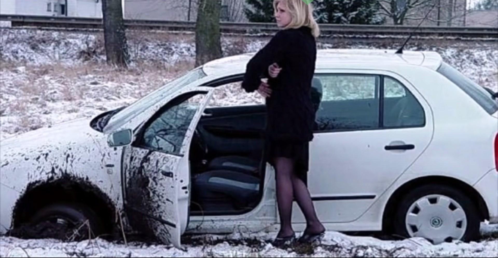 Автоаварии с девушками фото