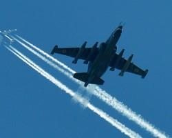 Украинский Су-25 был сбит российским самолетом?