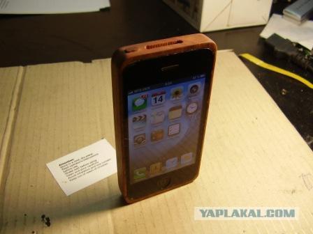 Деревянный телефон