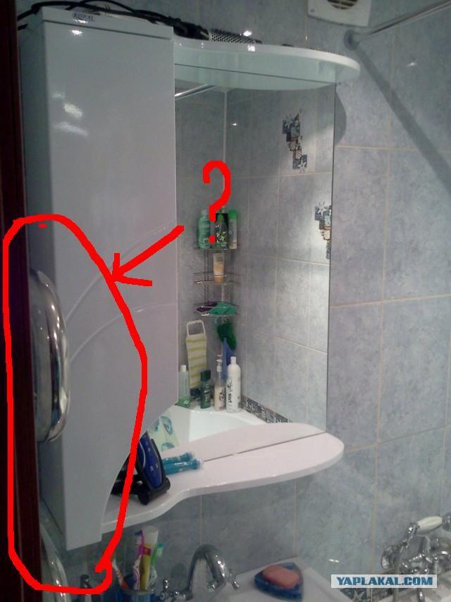 Угловые шкафчики в ванную комнату своими руками 100