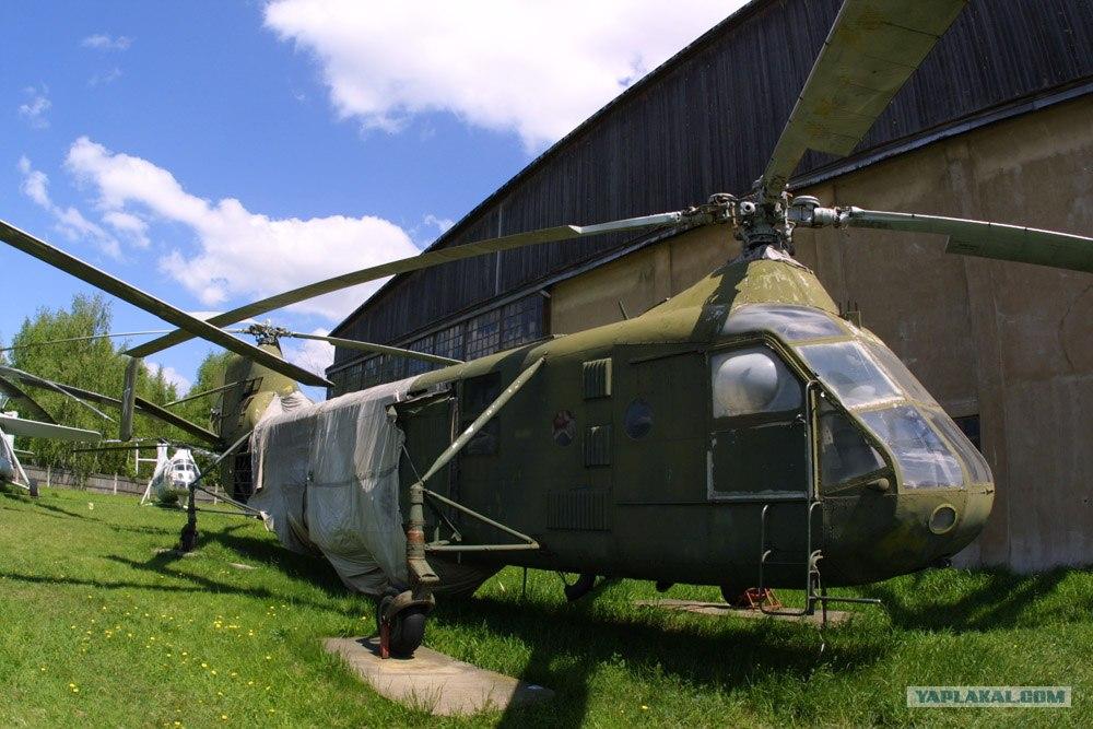Авиация из музея в Монино