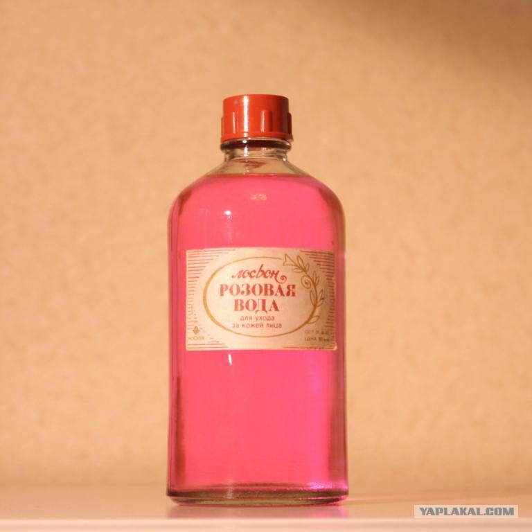 Розова вода в домашних условиях