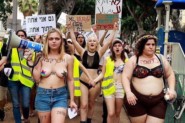 В Тель-Авиве прошел ежегодный «Марш шлюх»