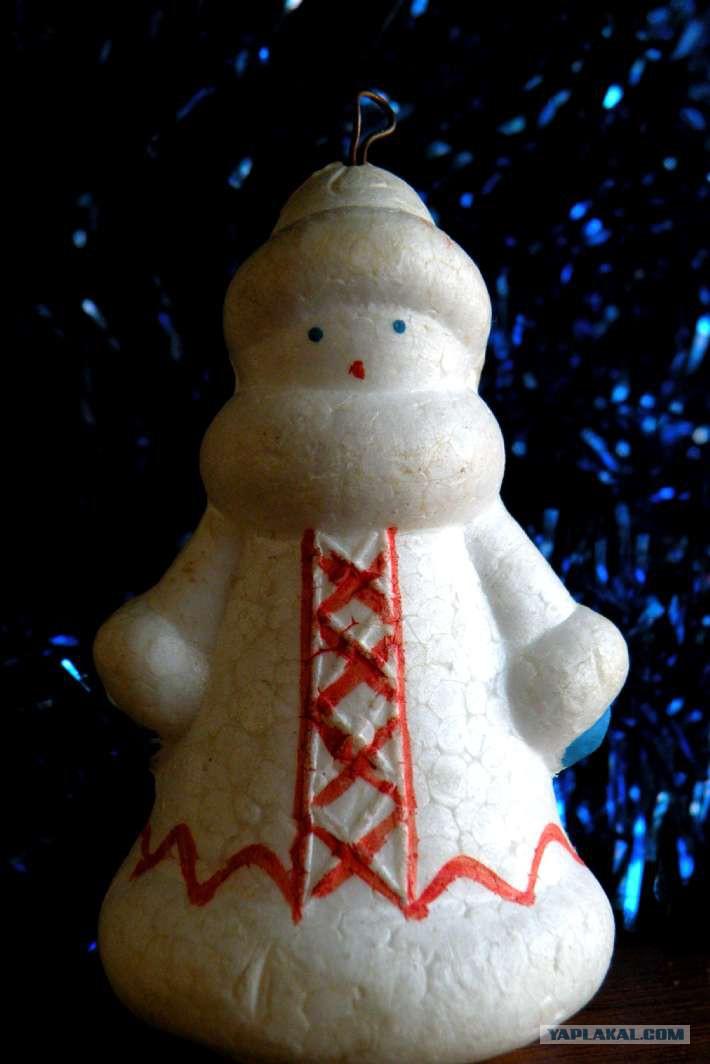 Новогодние игрушки своими руками из пенопласта