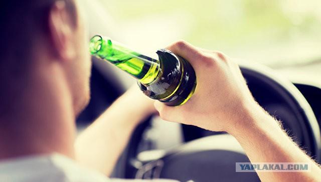 МВД предложило усилить наказание для пьяных водителей