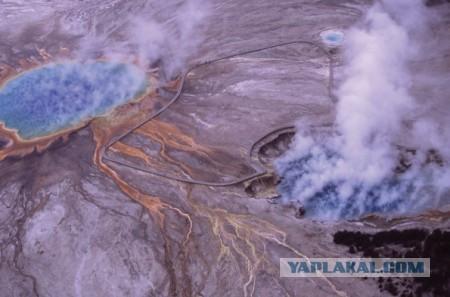 Новое сильное землетрясение в районе вулкана.