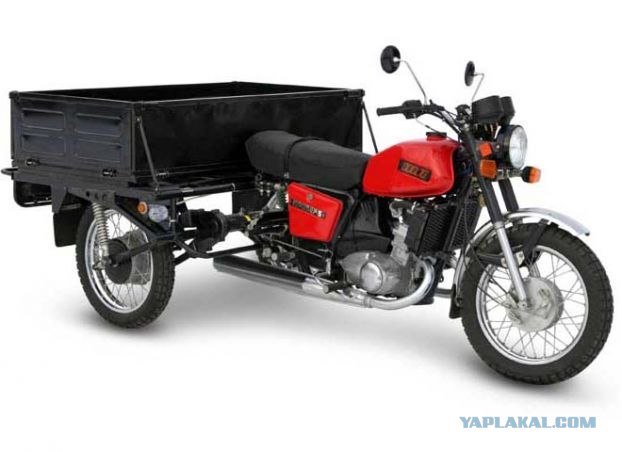 ИЖ 6.920 ГР Грузовой мотоцикл Отличительные особенности: -Раздаточная...