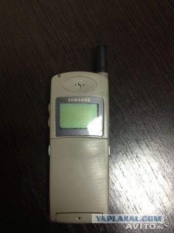 Продам раритеный телефон Самсунг