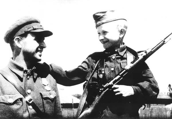 Детство опаленное войной. Народные мстители