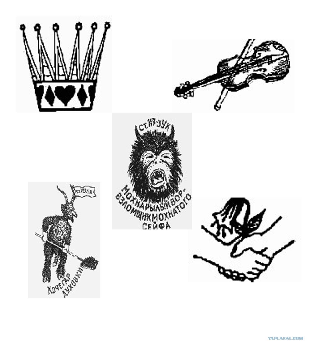 фото татуировки опущенных