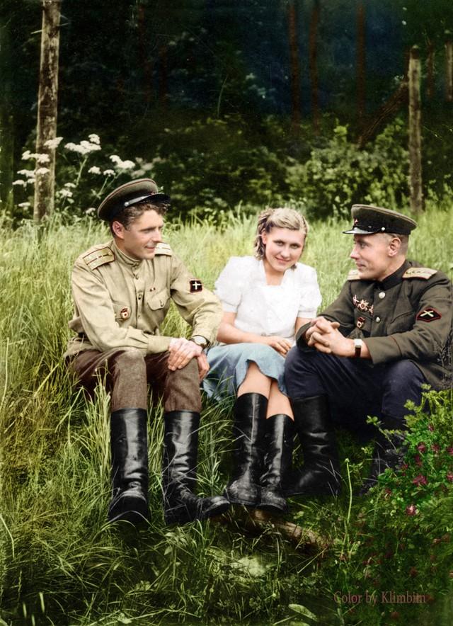 Фронтовой быт артиллеристов дивизии прорыва РГК. 1944 г.
