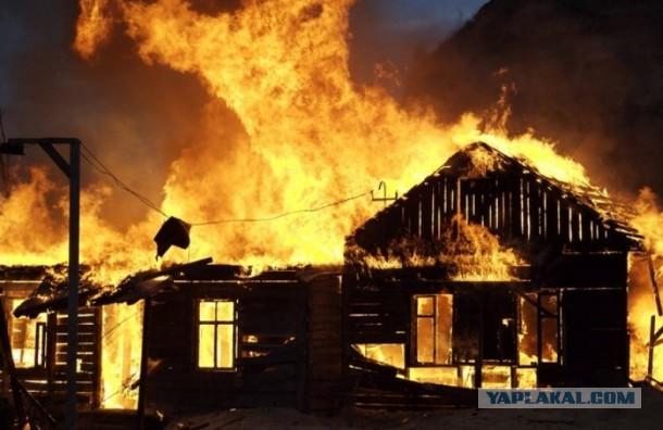 Петербуржец сжег деревню, в которой раскрыл штаб моджахедов