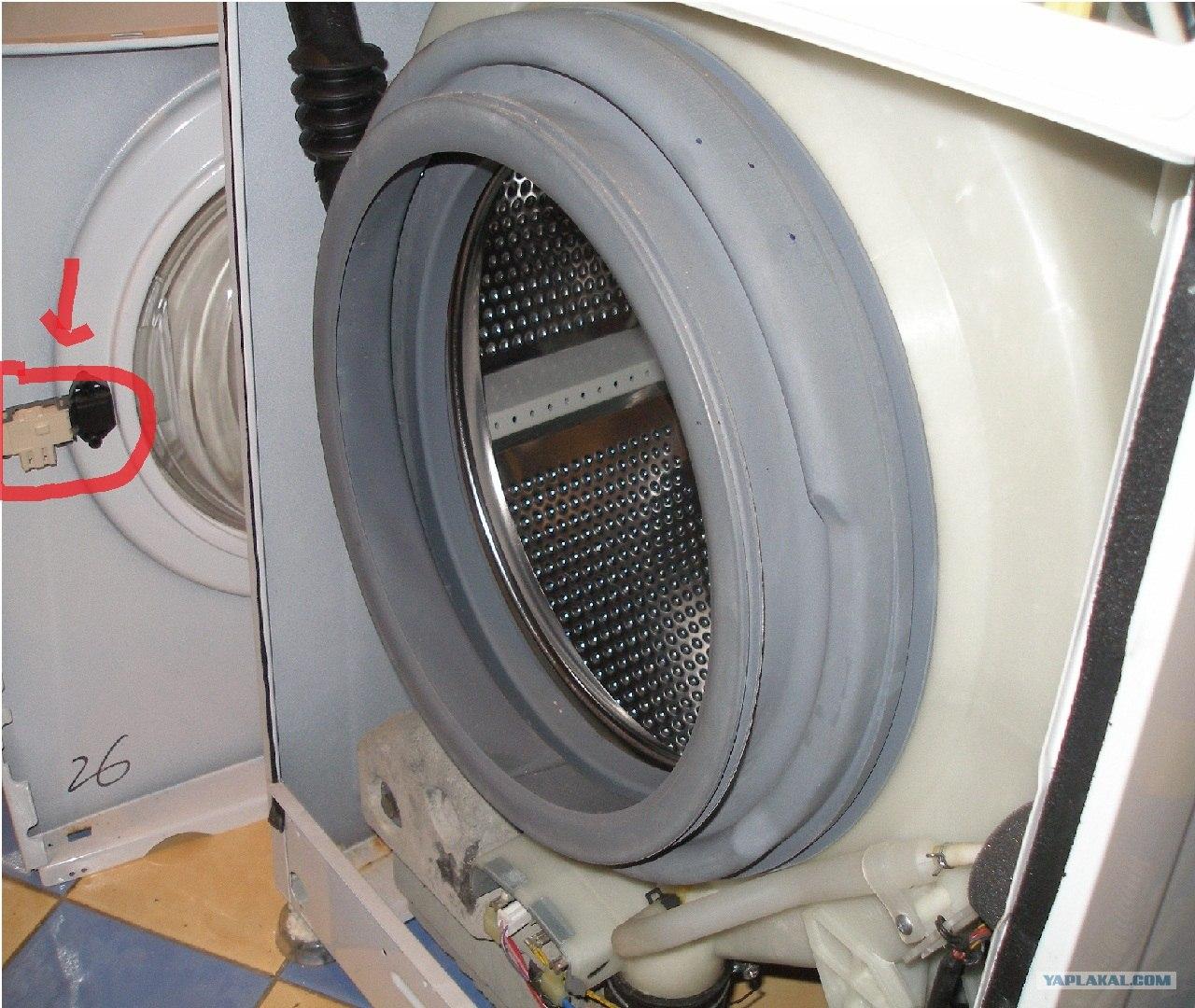 Ремонт замка стиральной машины samsung