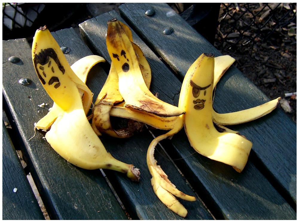 Как сделать банан с яйцом 517