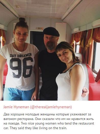 """""""Разрушитель легенд"""" Джейми Хайнман о путешествии по России"""