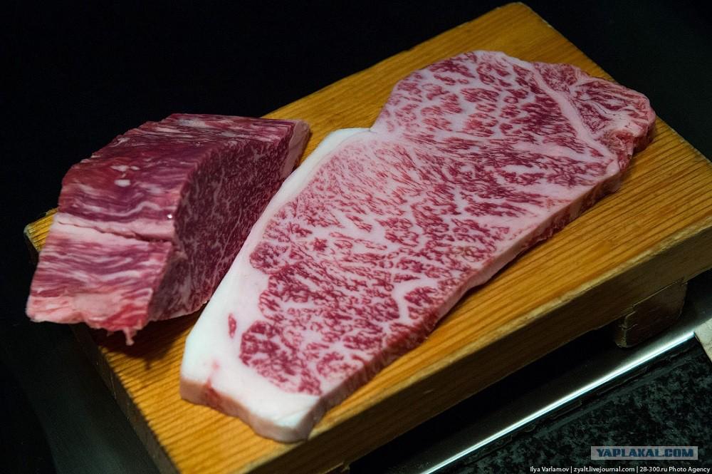 Мраморное мясо говядина цена за кг