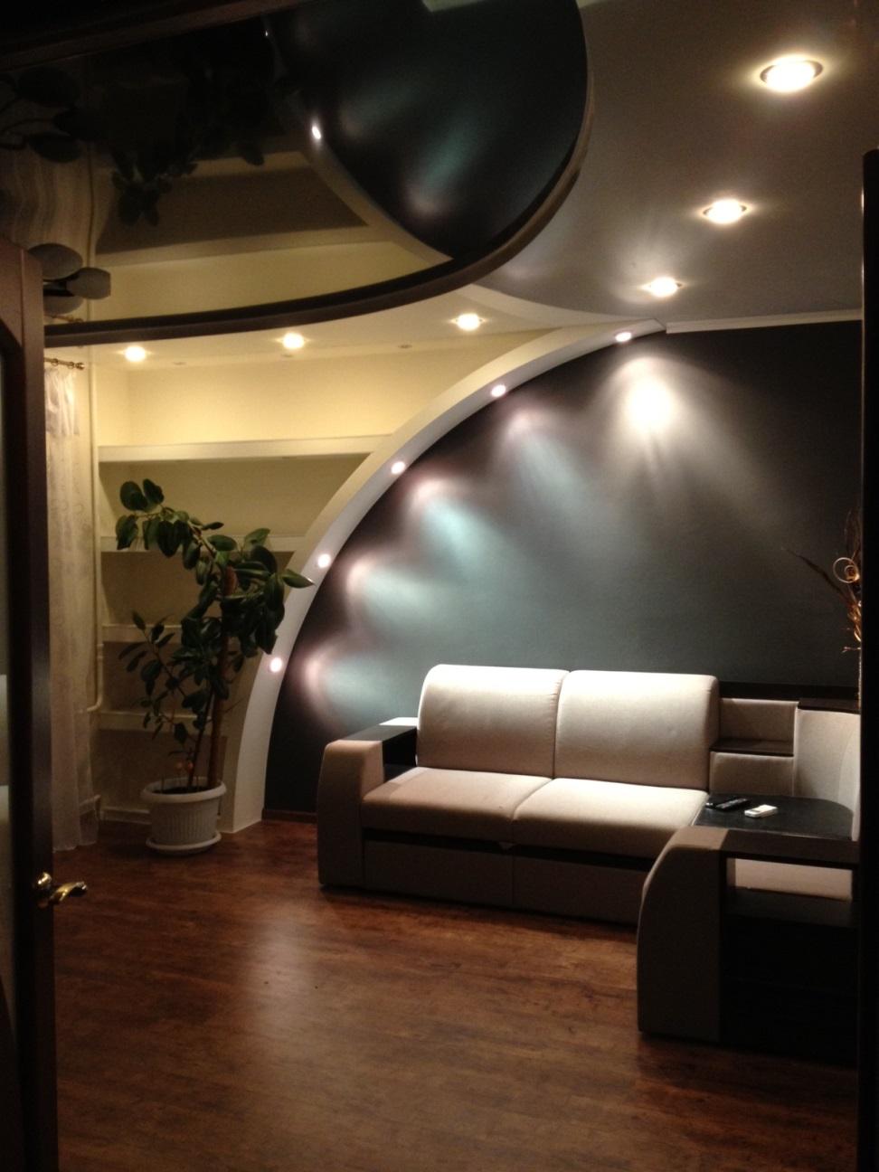 Фото ремонтов залой комнаты