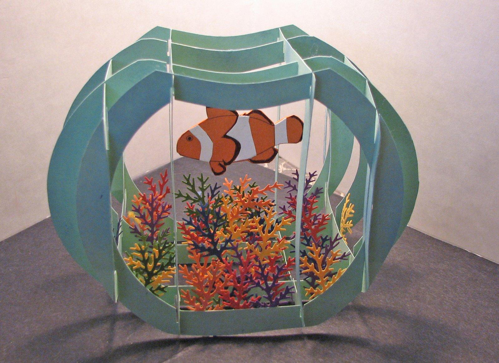 Поделки в аквариума своими руками
