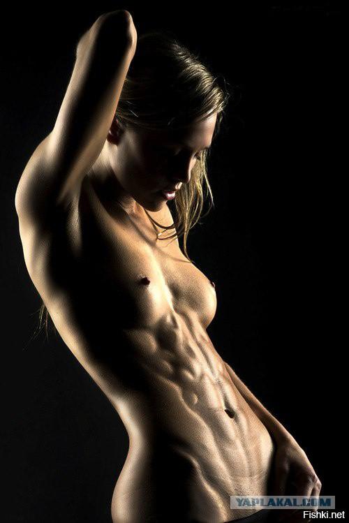 девушки с голым прессом