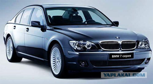BMW 7 series - все модели