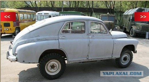 Челябинский автоумелец или волга-джип