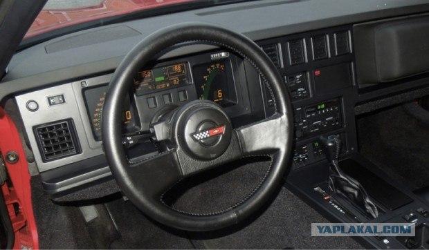 Заложник: новый Corvette провел 23 года взаперти…